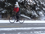 The Interior of Alaskan Life 1: Chores on a WinterBike