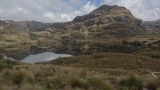 Ecuador: Las Cajas National Park high in the Andes Mountains