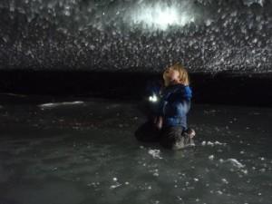 Castner glacier, Alaska family travel