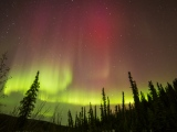 March is the best time for incredible northern lights in Fairbanks,Alaska