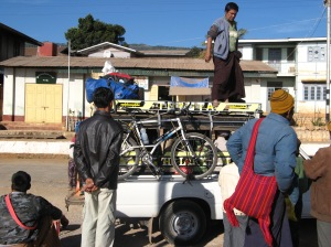 What is the best route when touring in Myanmar/Burma