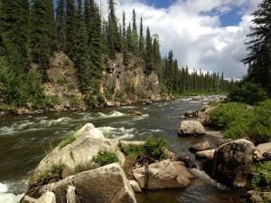 gulkanan river alaska portage