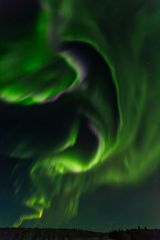 Epic aurora borealis Friday night in Alaska
