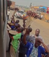 A day bus ride in equatorialUganda