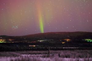 northern lights last night